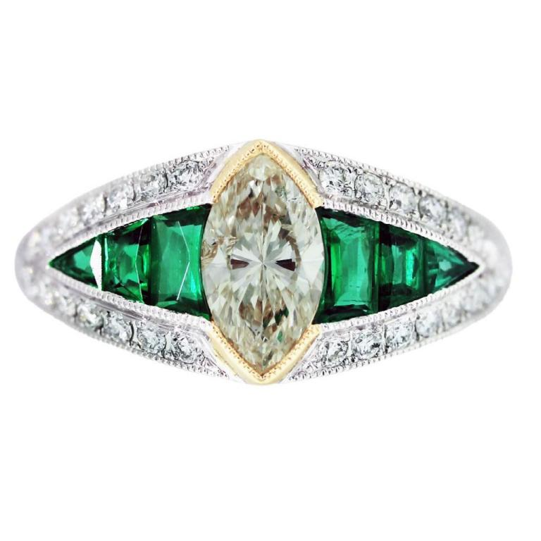 marquise-engagement-ring-eye-candy-L-EVdVpx 50 Unique Vintage Classic Diamond Engagement Rings