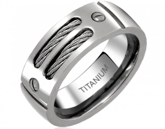 men-unique-wedding-bands-titanium-Men-Unique-Wedding-Bands-–-Masculine-and-Elegant 40 Unique & Unusual Wedding Rings for Him & Her