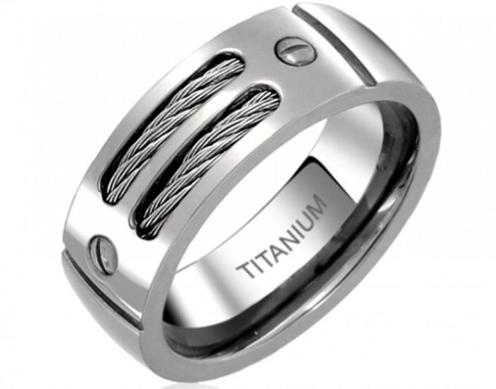 men-unique-wedding-bands-titanium-Men-Unique-Wedding-Bands-–-Masculine-and-Elegant 40 Unique & Unusual Wedding Rings for Him & Her