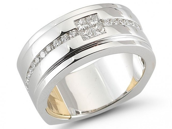 mens-diamond-wedding-band-127-00018 60 Breathtaking & Marvelous Diamond Wedding bands for Him & Her