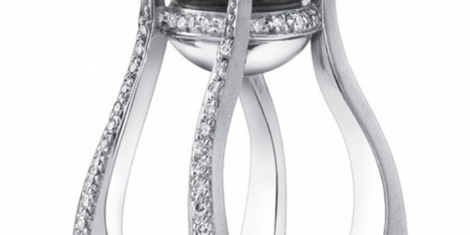 most beautiful pearl engagement ring pouted
