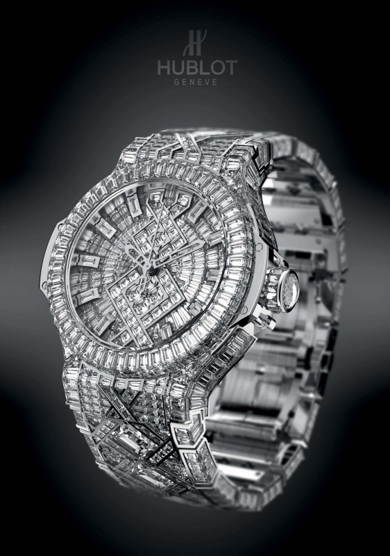 most_expensive_watch_Hublot 65 Most Expensive Diamond Watches in the World