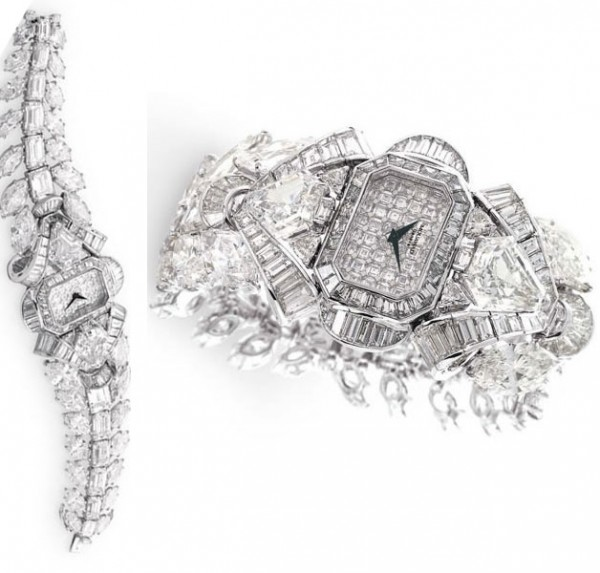 mouawad-white-diamond-watch 65 Most Expensive Diamond Watches in the World