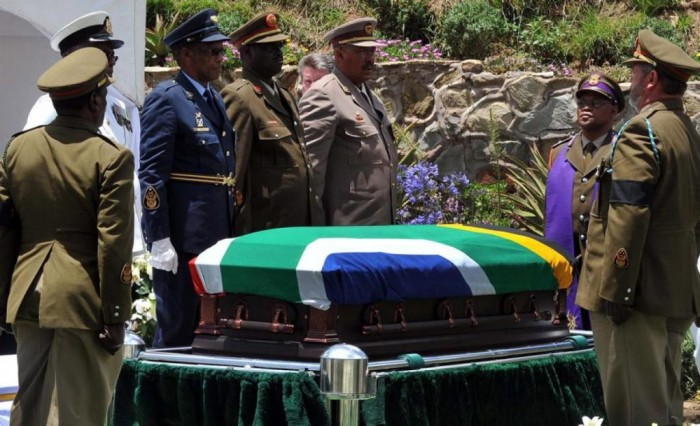 """nelson-mandela-funeral-qunu-south-africa. The Anti-apartheid Icon """" Nelson Mandela """" Who Restored His People's Pride"""