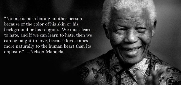 "nelson-mandela-quote The Anti-apartheid Icon "" Nelson Mandela "" Who Restored His People's Pride"