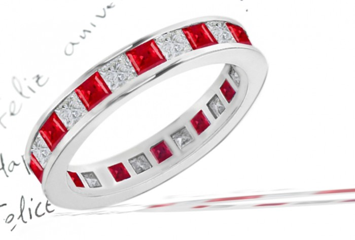 new-arrival-2010-collection-ruby-diamond-eternity-ring1new1 55 Fascinating & Marvelous Ruby Eternity Rings