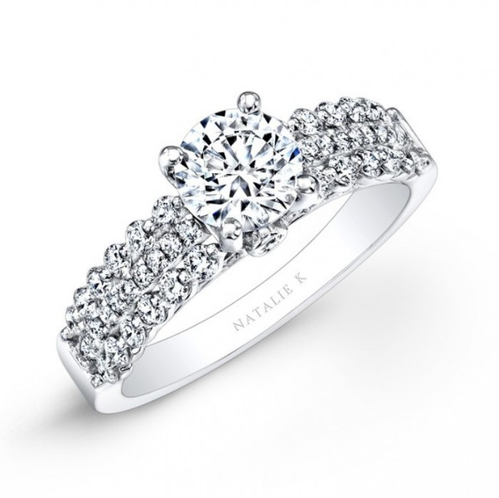 nk25914-w_three_quarter_3 50 Unique Vintage Classic Diamond Engagement Rings