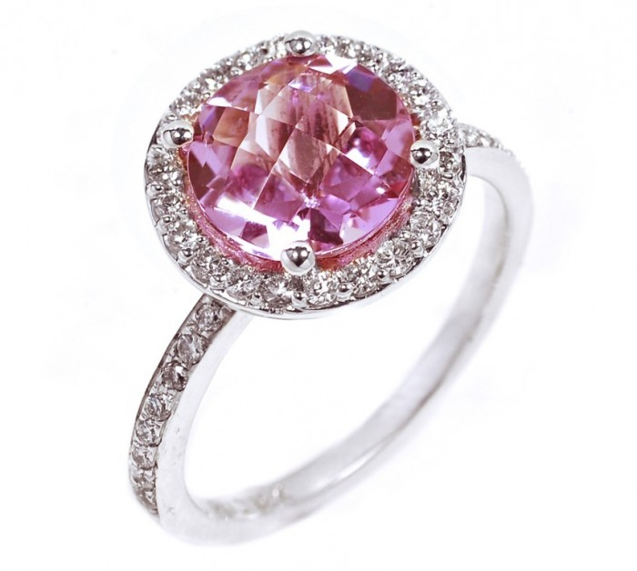 ogi-7-1040ac121510 60 Magnificent & Breathtaking Colored Stone Engagement Rings