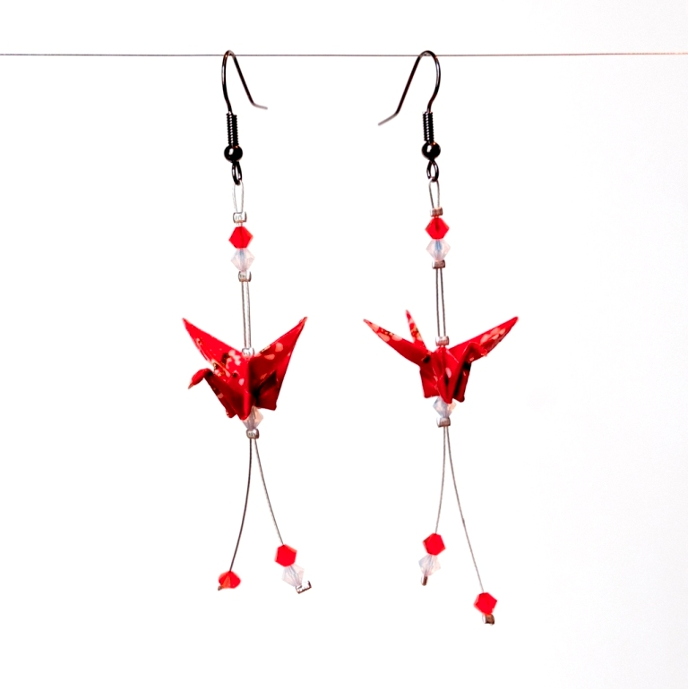 origami_crane_earrings_by_walking_cripple-d35ks3x1 45 Unusual and Non-traditional Earrings