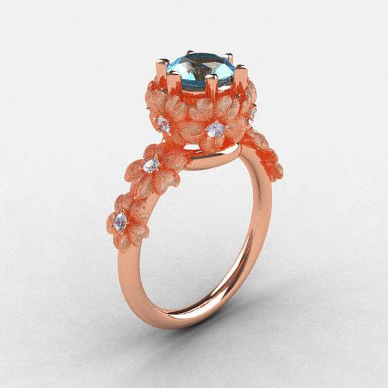 original5 Top 70 Dazzling & Breathtaking Rose Gold Engagement Rings