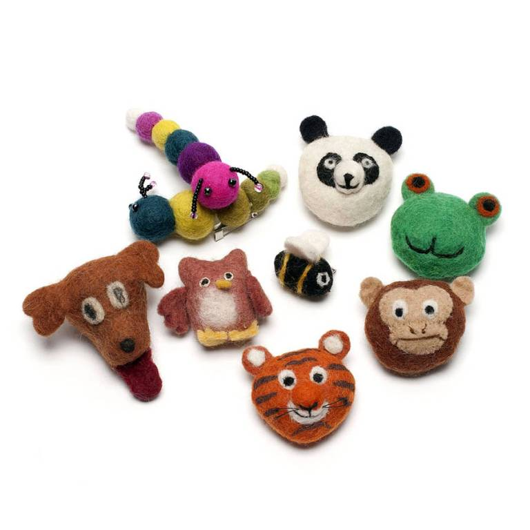 original_animal-brooches. 45 Handmade Brooches to Start Making Yours on Your Own