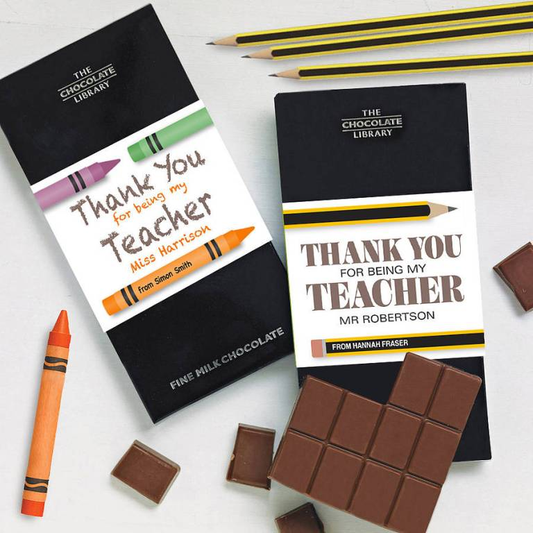 original_thank-you-teacher-personalised-chocolate 30 Amazing & Affordable Thank You Gift Ideas