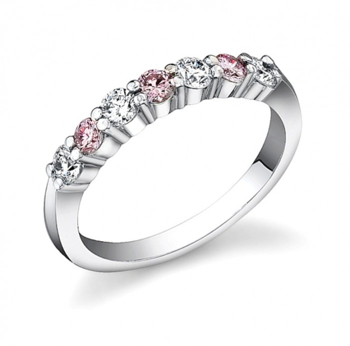 pink_diamond_ring_637_409 60 Breathtaking & Marvelous Diamond Wedding bands for Him & Her