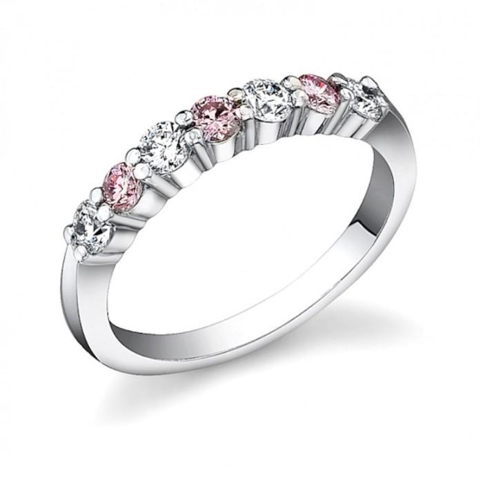pink_diamond_ring_637_409 60 Breathtaking & Marvelous Diamond Wedding bands for Him & Her