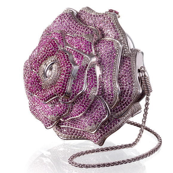 precious-rose-by-judith-leiber 69 Most Expensive Diamond Purses in The World