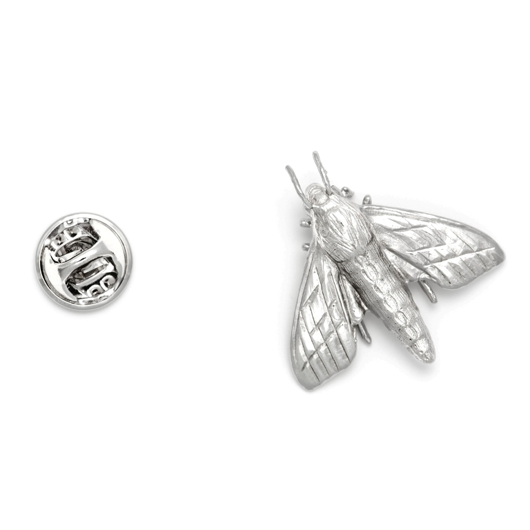 productimage-picture-moth-lapel-pin-silver-6510 Top 35 Elegant & Quality Lapel Pins