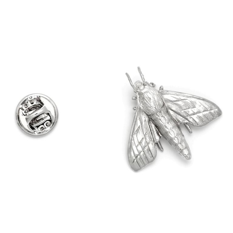 productimage-picture-moth-lapel-pin-silver-6510 Top 35 Elegant & Quality Lapel Pins