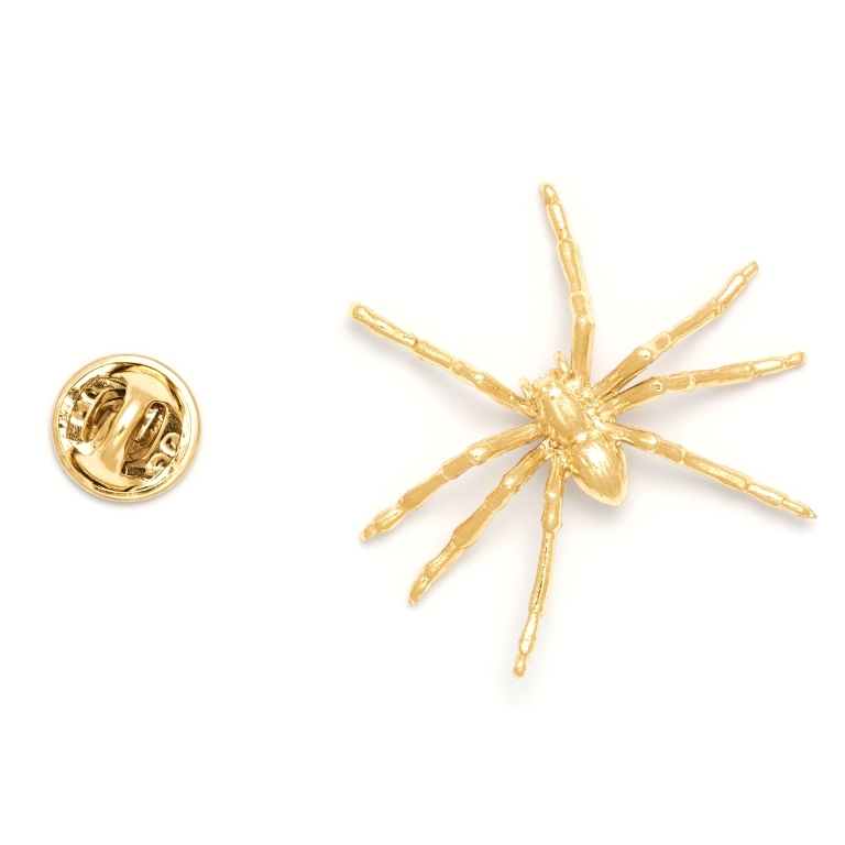 productimage-picture-spider-lapel-pin-gold-6505 Top 35 Elegant & Quality Lapel Pins