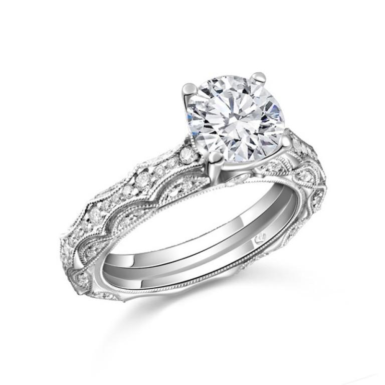 r10316_2 50 Unique Vintage Classic Diamond Engagement Rings