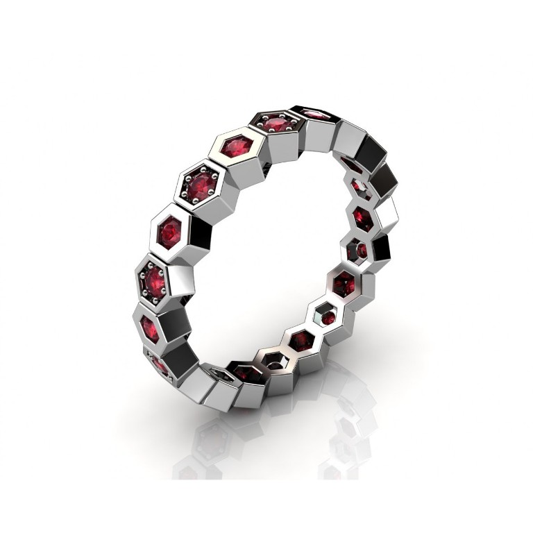 r11_1w_rb-1500x1500 55 Fascinating & Marvelous Ruby Eternity Rings