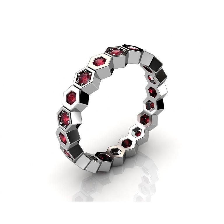 r11_1w_rb-1500x1500 55 Fascinating & Marvelous Ruby Eternity Rings