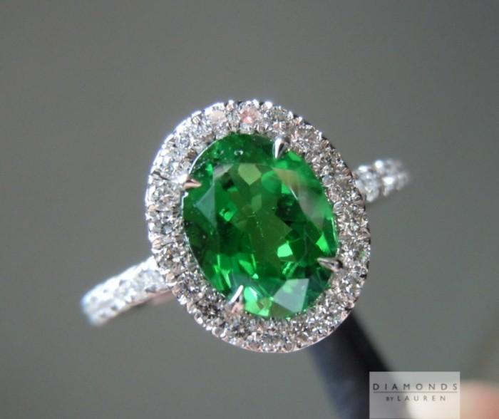 r4186-green-diamond-ring-b 30 Fascinating & Dazzling Green diamond rings