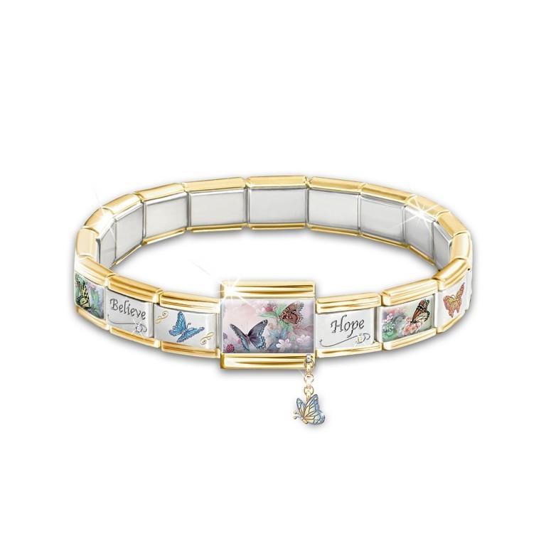 replatformOverlays.. 25 Amazing & Catchy Italian Link Charm Bracelets