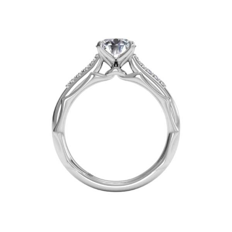 ritani_engagement_ring_1RZ2841_C3206068_side-detail 35 Fascinating & Stunning Round Solitaire Engagement Rings