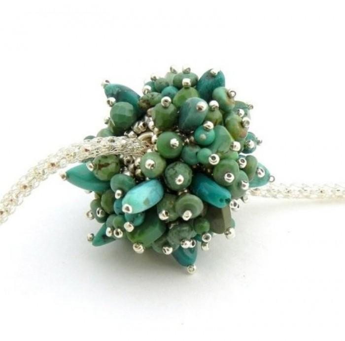 sea-anemone-gemstone-and-pearl-beaded-bead-jewelry-UDU2Ny0xMDIyNTYuMzA4MzY5 65 Fabulous & Stunning Handmade Beaded Gemstone Jewelries