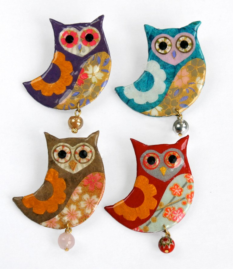 shark-alley-owl-brooches 45 Handmade Brooches to Start Making Yours on Your Own