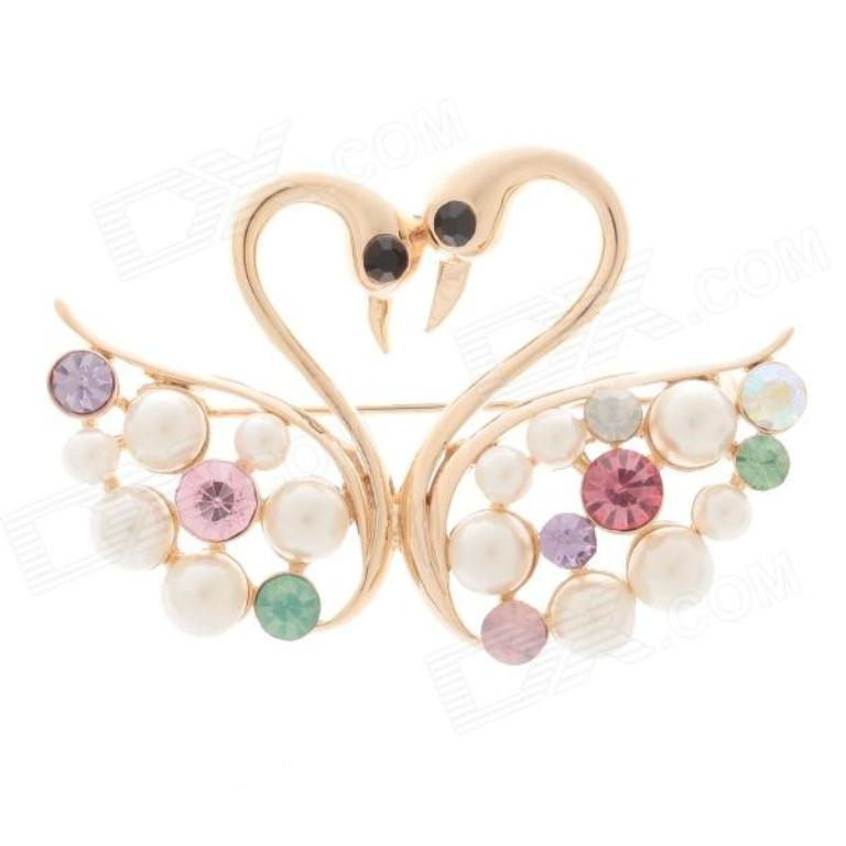 sku_269429_1 50 Wonderful & Fascinating Pearl Brooches