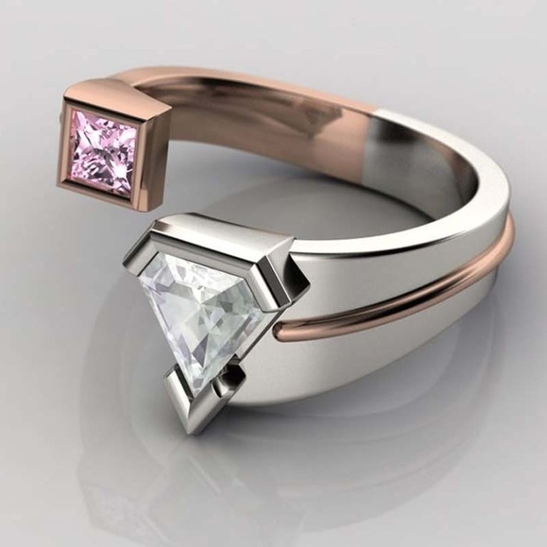 superman-ring 40 Unique & Unusual Wedding Rings for Him & Her