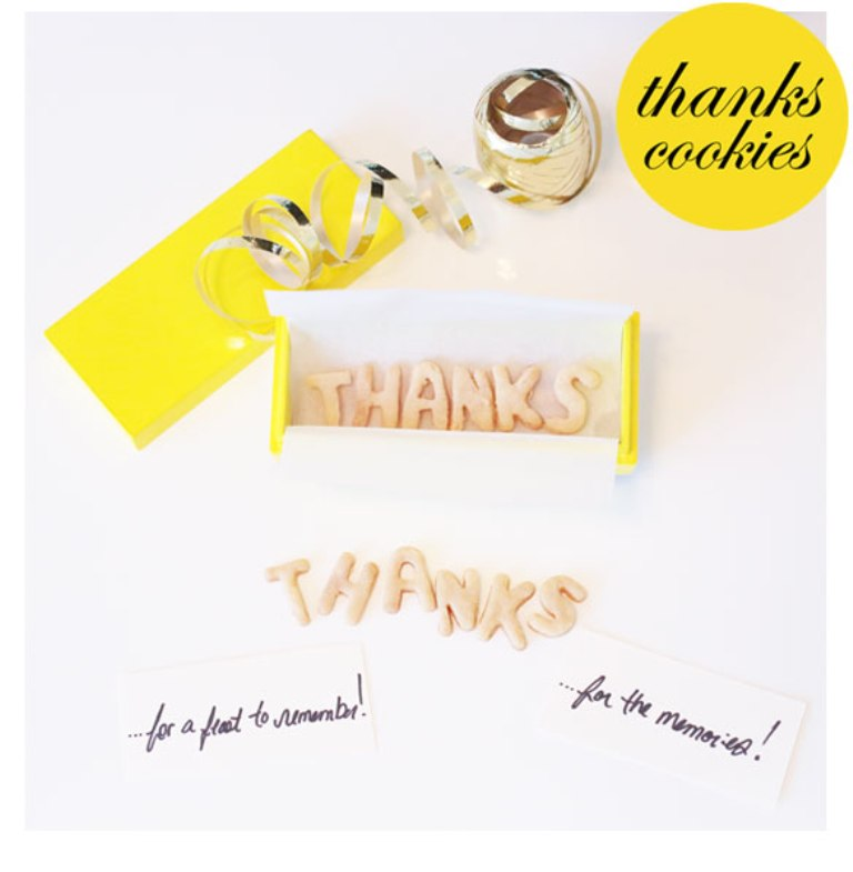 thankyoucookies1 30 Amazing & Affordable Thank You Gift Ideas