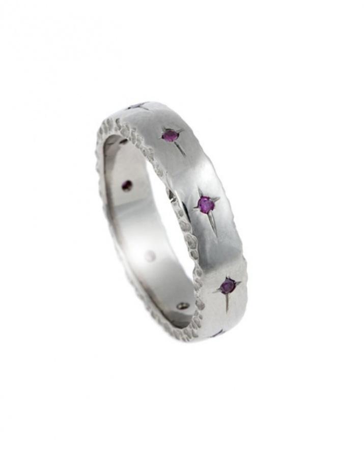 trr418pkd 40 Unique & Unusual Wedding Rings for Him & Her