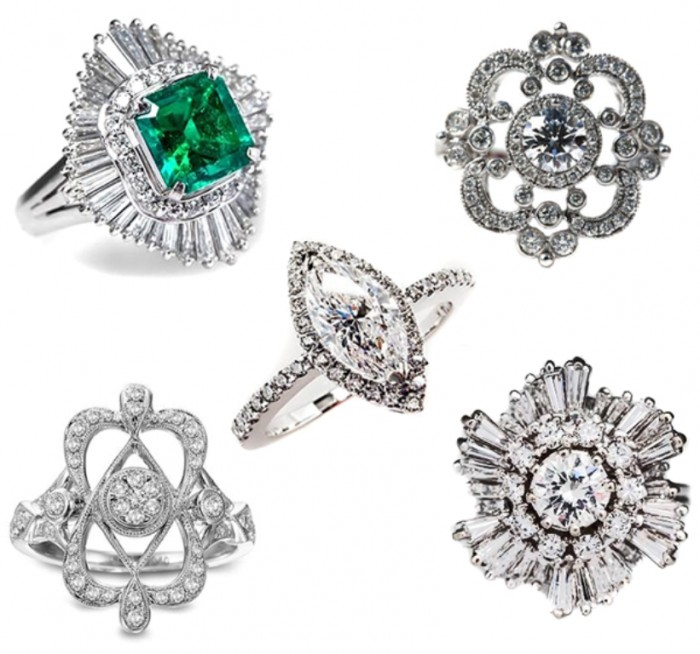 unique-engagement-rings-with-personality-1 50 Unique Vintage Classic Diamond Engagement Rings