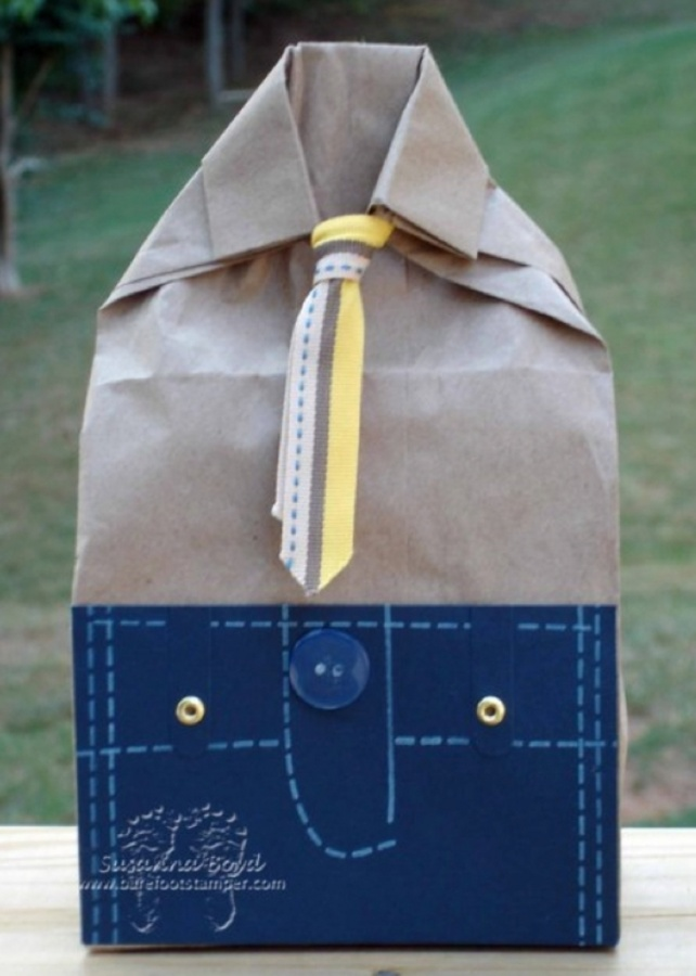 unique-fathers-day-gift-wrap 40 Creative & Unusual Gift Wrapping Ideas