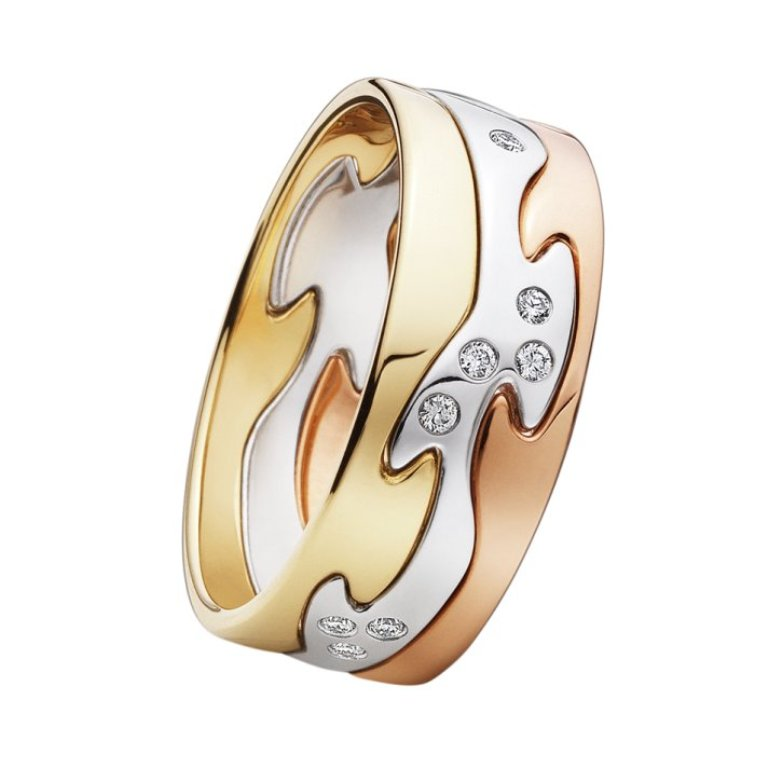 unique-wedding-bands-for-brides-rose-yellow-gold-platinum-diamonds Top 60 Stunning & Marvelous Rose Gold Wedding Bands
