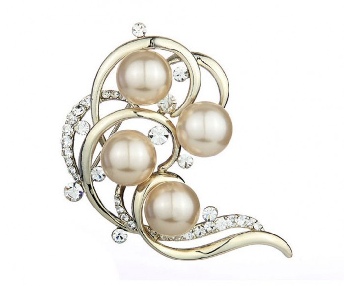 vintage_pearl_swarovski_brooch_044007_1 50 Wonderful & Fascinating Pearl Brooches