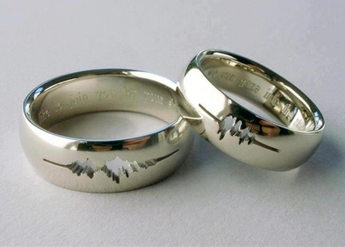 wave-form-rings 40 Unique & Unusual Wedding Rings for Him & Her