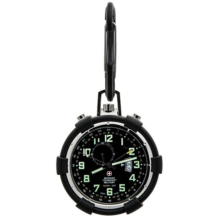wenger-swiss-military-traveler-alarm-pocket-watch-for-men-in-blackp6682m_011500.2 Best 35 Military Watches for Men