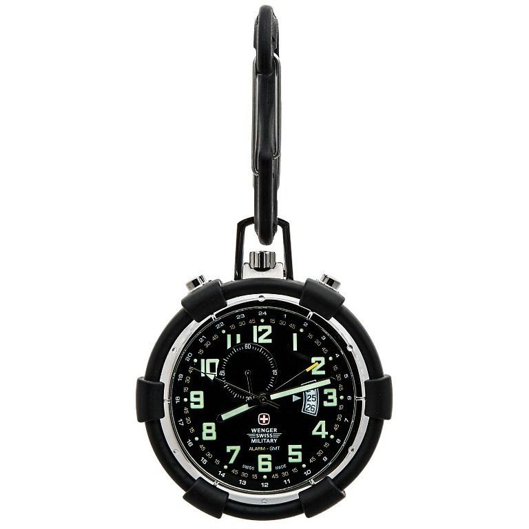 wenger-swiss-military-traveler-alarm-pocket-watch-for-men-in-blackp6682m_011500.2 Best 35 Military Watches for Men