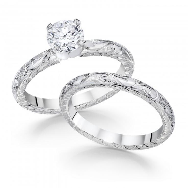 whitehouse-brothers-vintage-2738 50 Unique Vintage Classic Diamond Engagement Rings