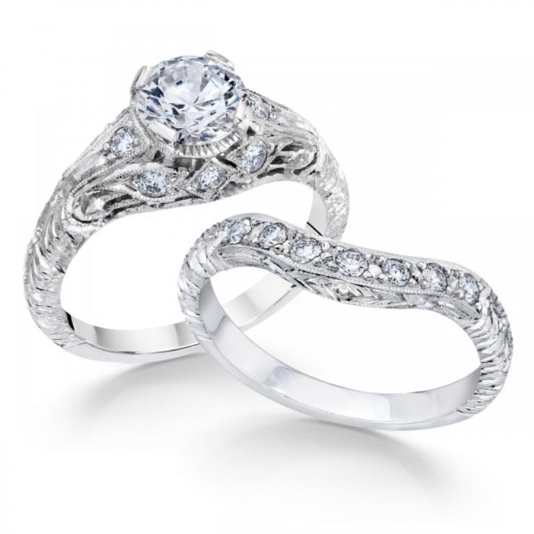 whitehouse-brothers-vintage-7089 50 Unique Vintage Classic Diamond Engagement Rings