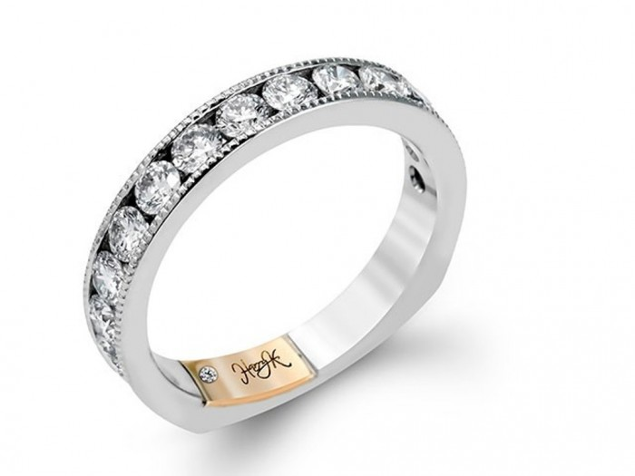 womens-diamond-wedding-band-117-00191 60 Breathtaking & Marvelous Diamond Wedding bands for Him & Her