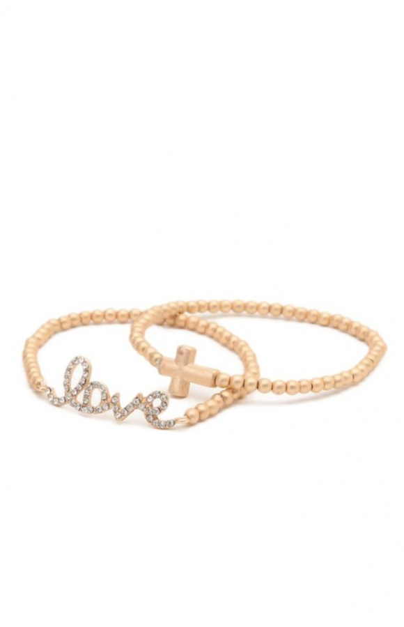 womens-with-love-from-ca-jewelry-with-love-from-ca-2-pack-love-cross-bracelets__4272 Show Your Endless Love to Your Lover with These Unique Cuffs & Bracelets of Love