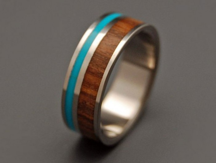 wood-ring-for-him 40 Unique & Unusual Wedding Rings for Him & Her
