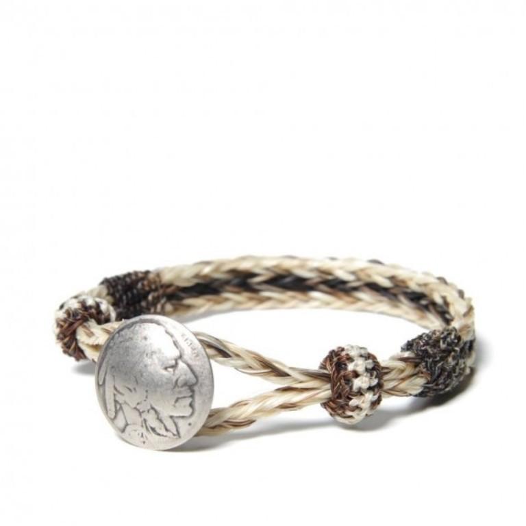 woven-indian-medallion-bracelet-580x580 45 Elegant & Breathtaking Horse Hair Bracelets