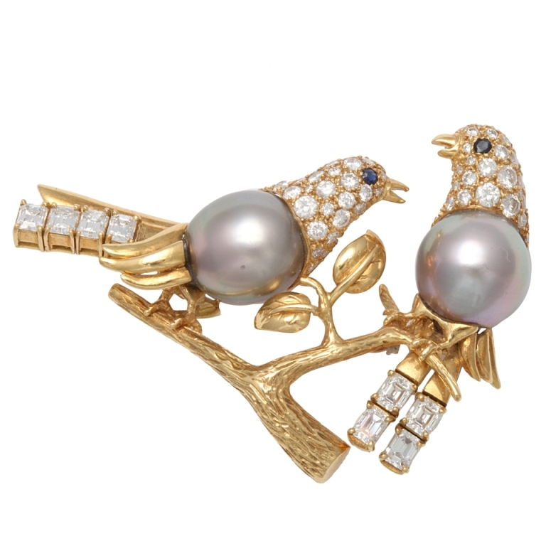 x 50 Wonderful & Fascinating Pearl Brooches