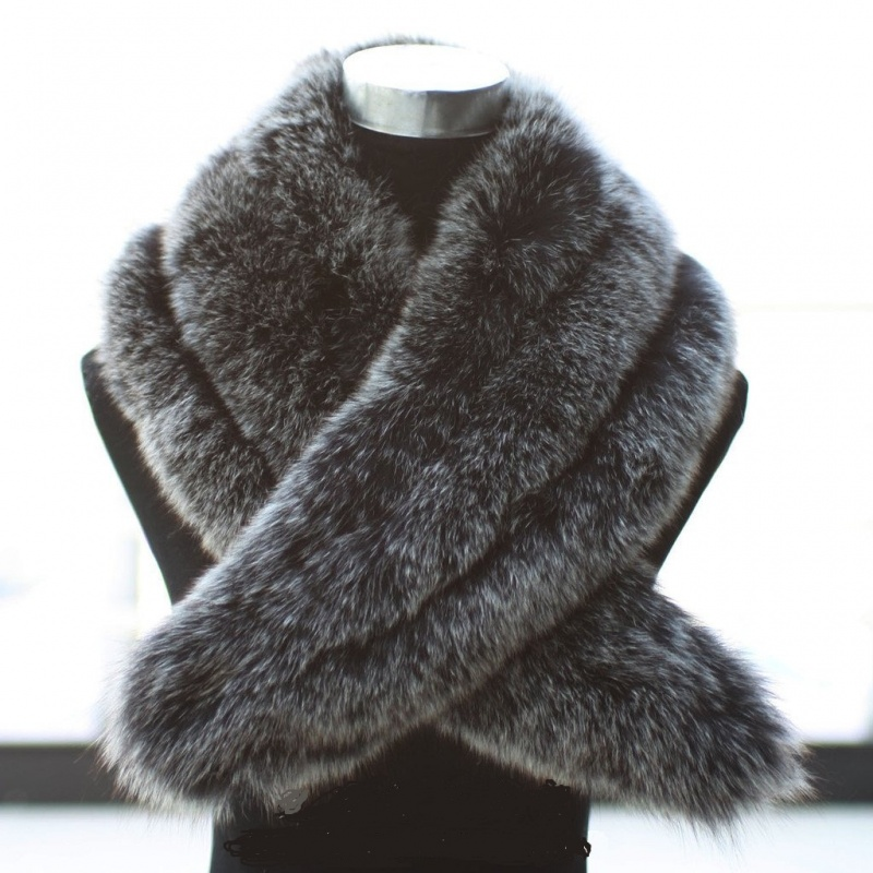 2012-High-Quality-ultralarge-fox-fur-scarf-cape-collar-women-s-autumn-and-winter-fur-collar Top 79 Stylish Winter Accessories in 2021
