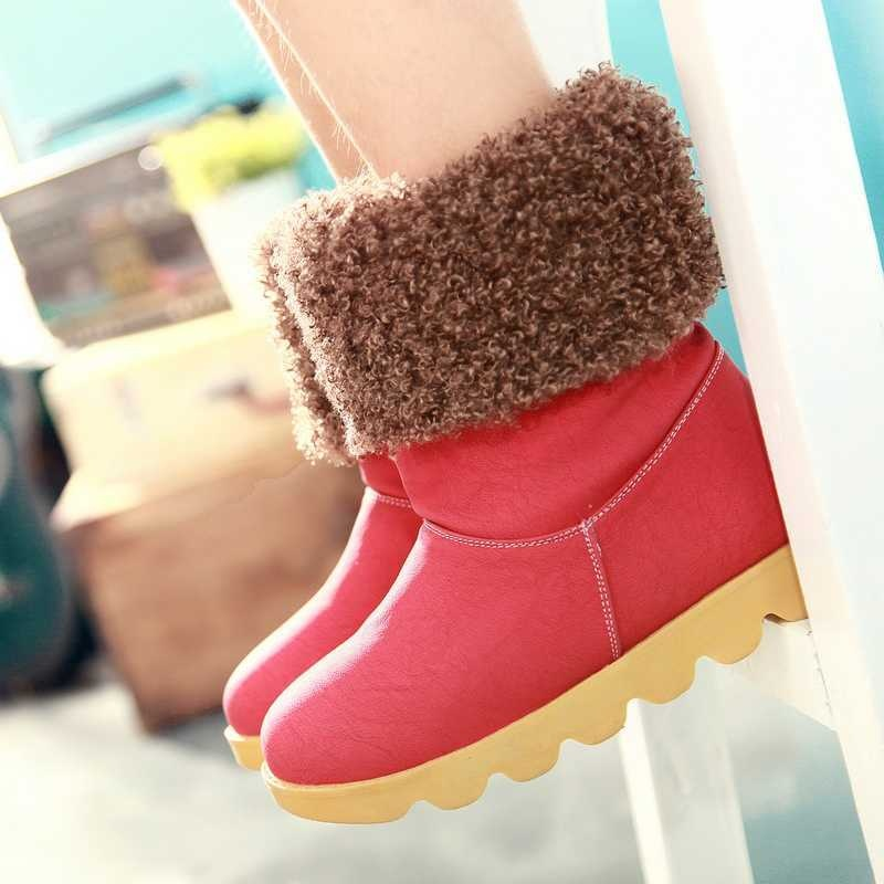 2012-Winter-Warm-Fur-Suede-Short-Snow-Boots-For-Women-3994 Top 79 Stylish Winter Accessories in 2018